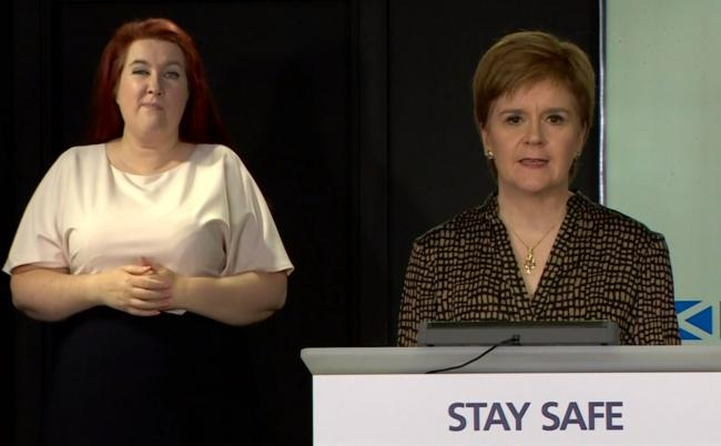 Nicola Sturgeon responds to accusations of 'politicised' Covid briefings