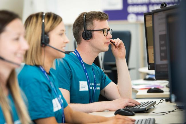 ON CALL: Danny Ramage is part of the team of SDS advisers who are ready to help.