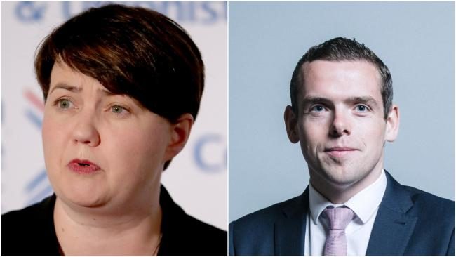 Ruth Davidson will stand in for Douglas Ross at FMQs until he wins election to Holyrood