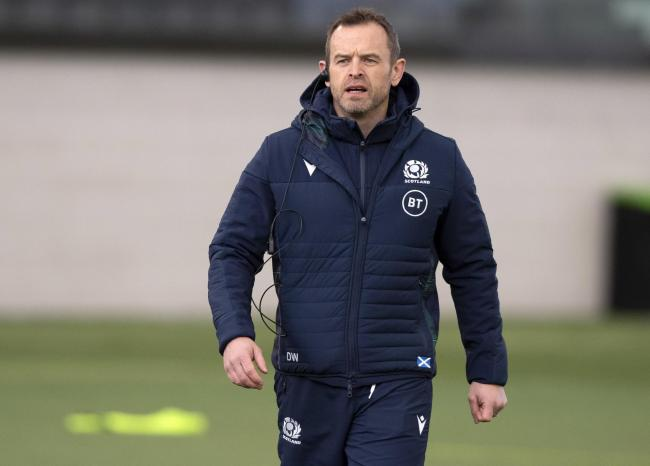 Glasgow Warriors coach Danny Wilson