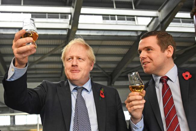 Boris Johnson made a 'mistake' in previously ruling out national lockdown, says Douglas Ross