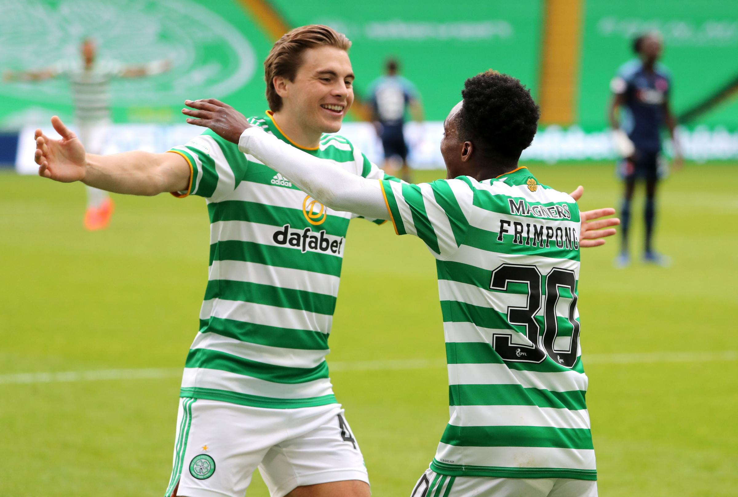Celtic 2-1 Hamilton LIVE: Martin pulls one back after Edouard and Frimpong open scoring