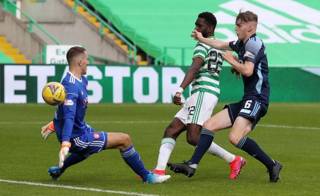 Odsonne Edouard was too much for Hamilton's defence to handle.