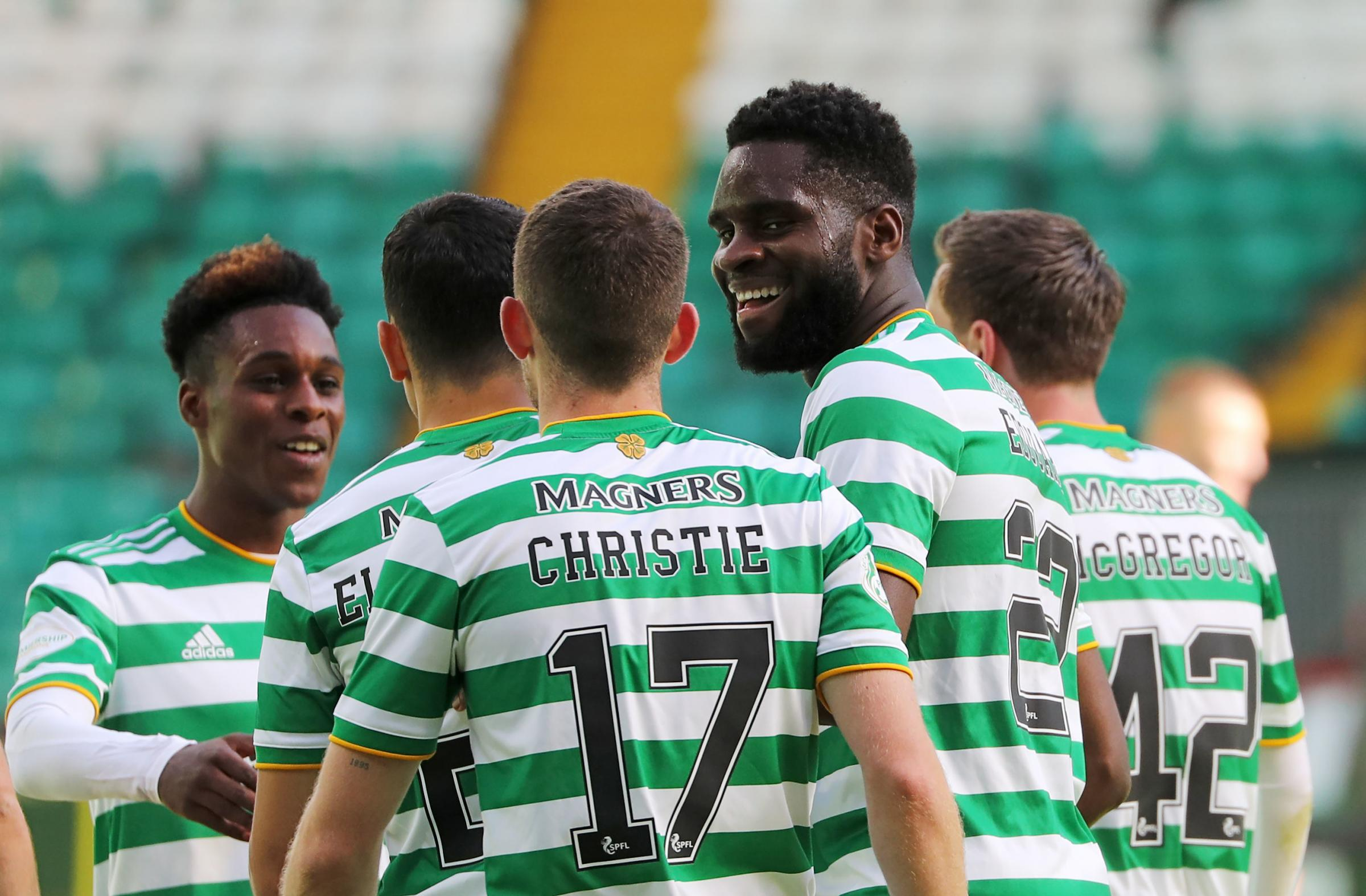 Neil Lennon on staving off suitors for Celtic striker Odsonne Edouard