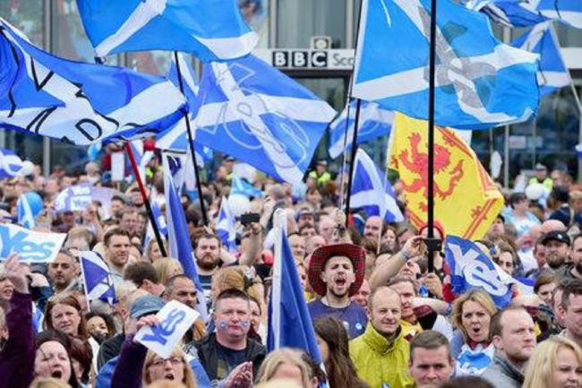 Ex-justice secretary calls on Scottish independence supporters to 'begin marching' despite continued lockdown