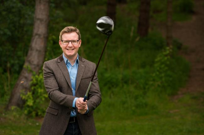 CEO David Hunter followed his internal GPS to launch a groundbreaking new satellite technology-based golfing watch for pinpoint accuracy on the fairways.