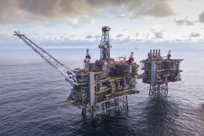 Production facilities for the Clair Ridge field West of Shetland Picture:BP
