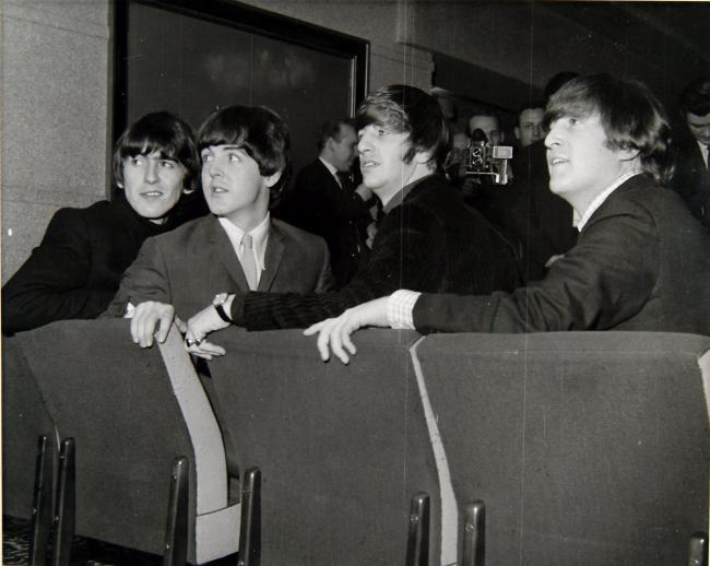 The Beatles in Edinburgh on 19/10/1964