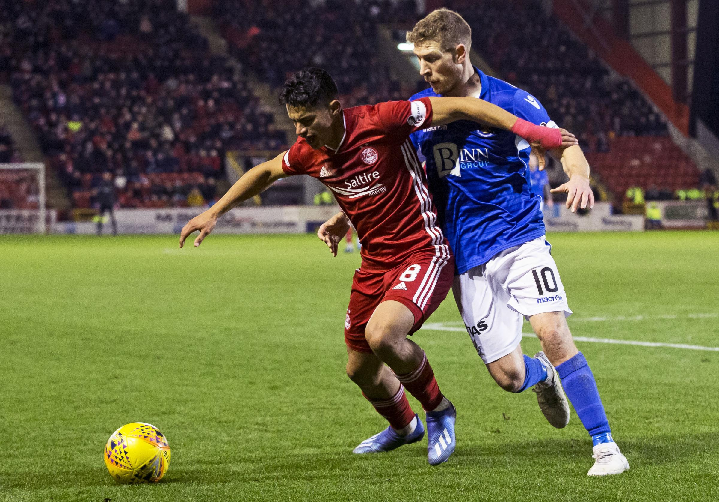 St Johnstone v Aberdeen to go ahead as eight Dons players go into quarantine
