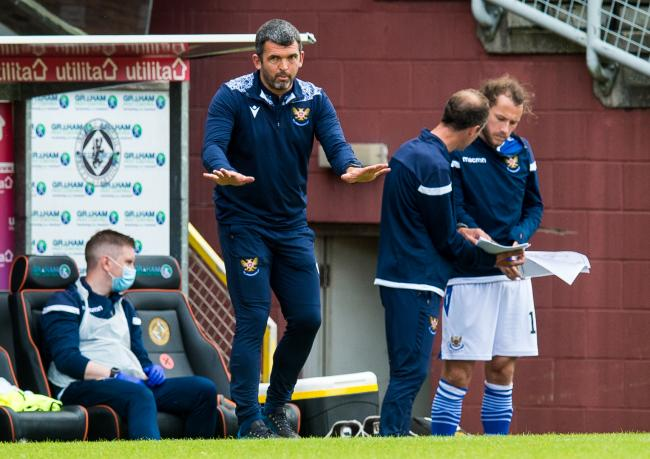 St Johnstone boss Callum Davidson on fake crowd noise, the impact of Steven MacLean and transfers