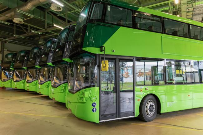 World's first hydrogen-powered double decker buses set for Scotland launch