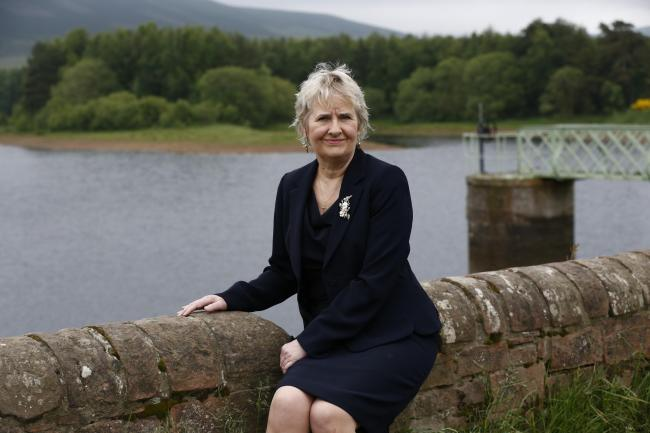 Roseanna Cunningham MSP, Cabinet Secretary for Environment, Climate Change 