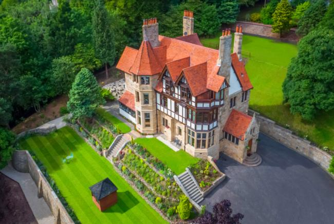 In pictures: Fairytale home up for sale in Stirling for £1.5m