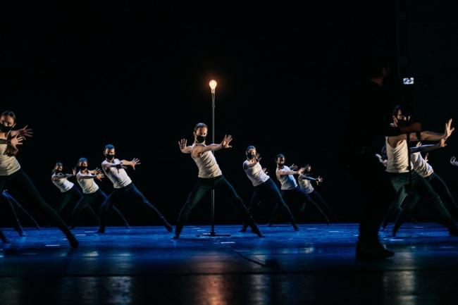 Scottish Ballet in Catalyst by Nicholas Shoesmith (part of the EIF's My Light Shines On programme)