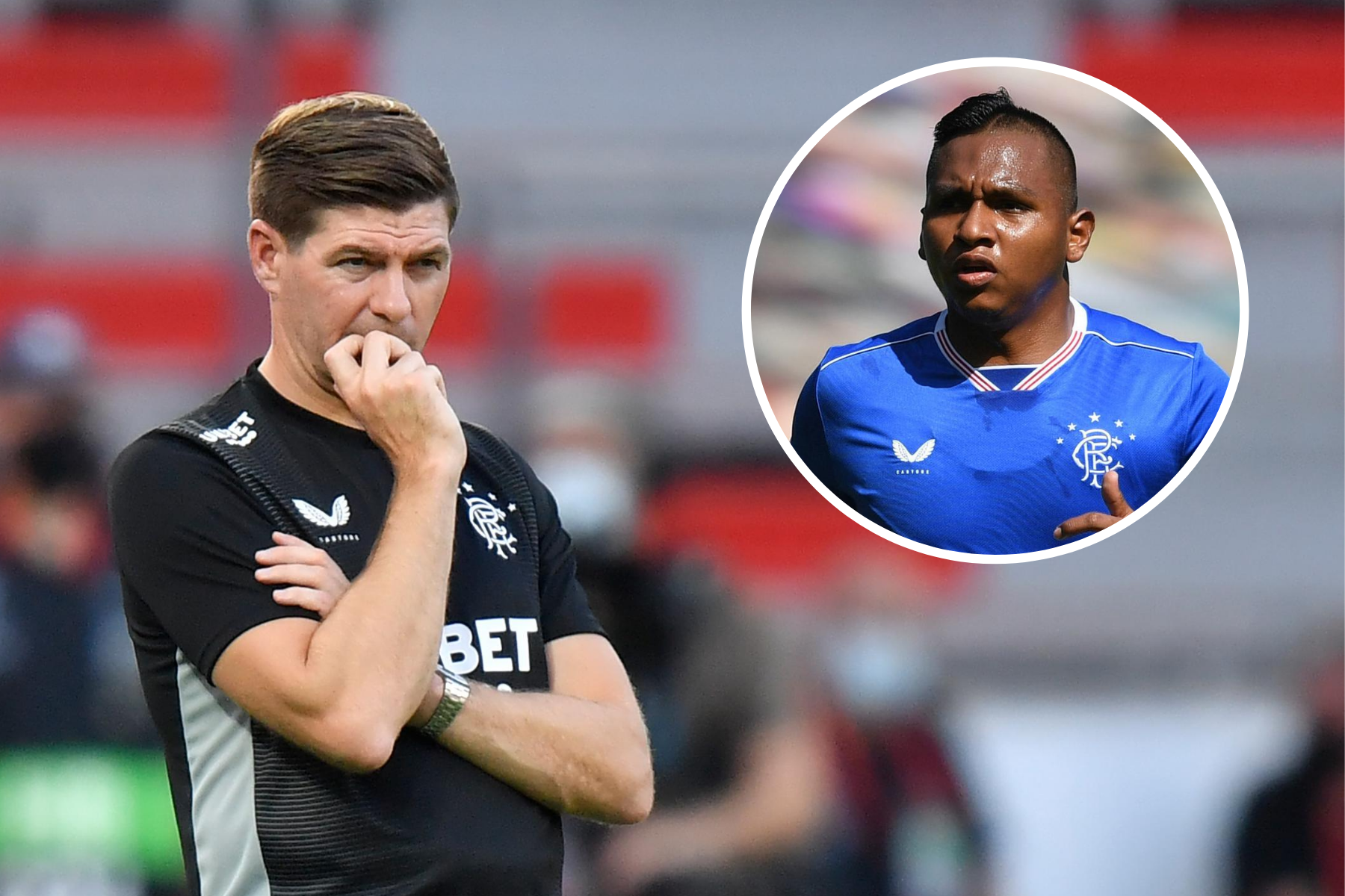 Alfredo Morelos is 'committed to Rangers' as Steven Gerrard cools Lille interest