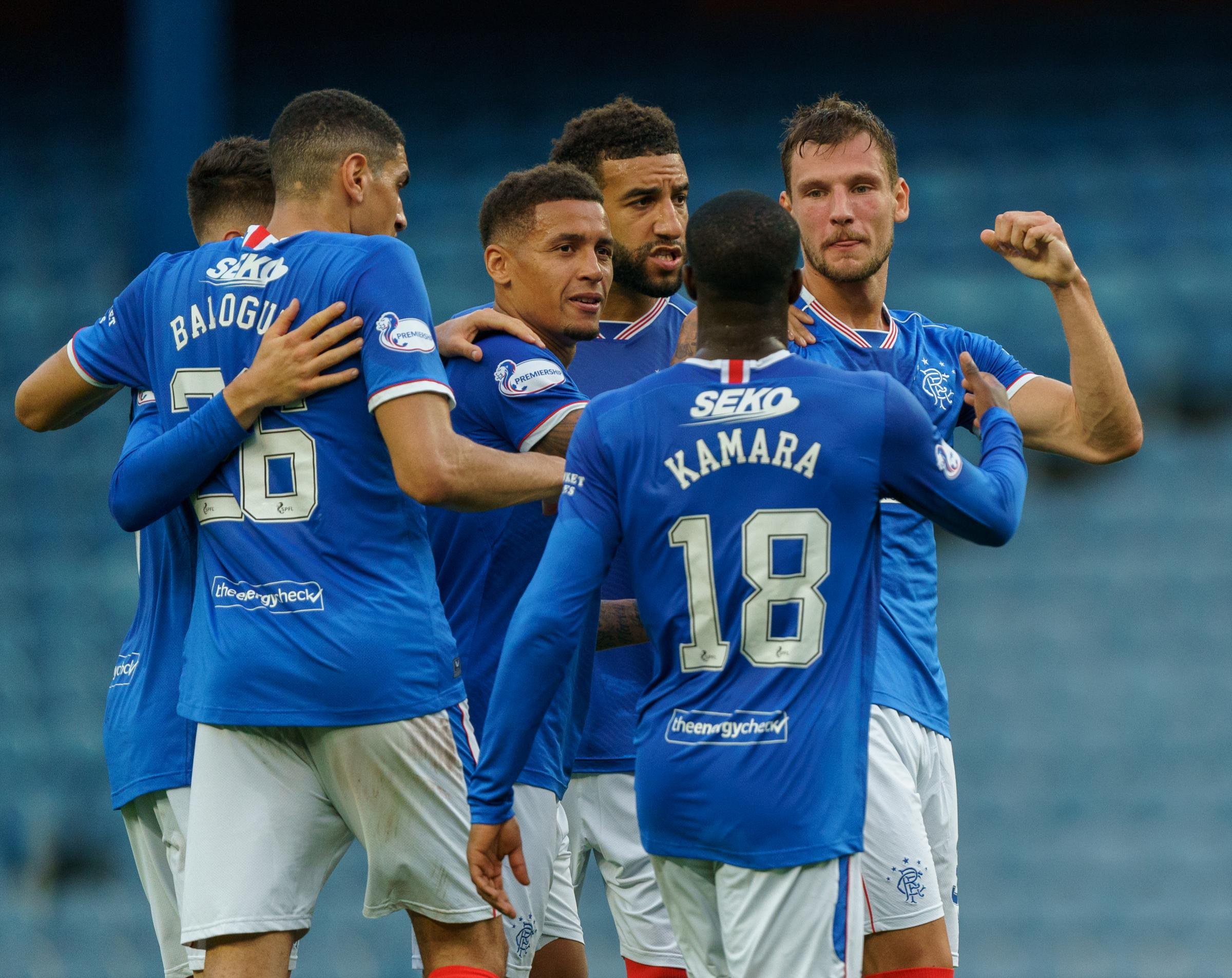 Rangers and St Johnstone players rated as Ibrox side hit top of Scottish Premiership
