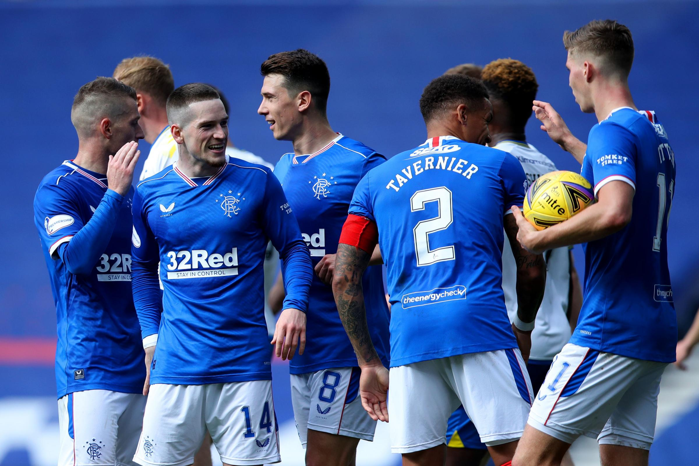 Rangers 2-0 Kilmarnock: Ryan Kent comes to the fore for Steven Gerrard's side as Alfredo Morelos is nowhere to be seen at Ibrox
