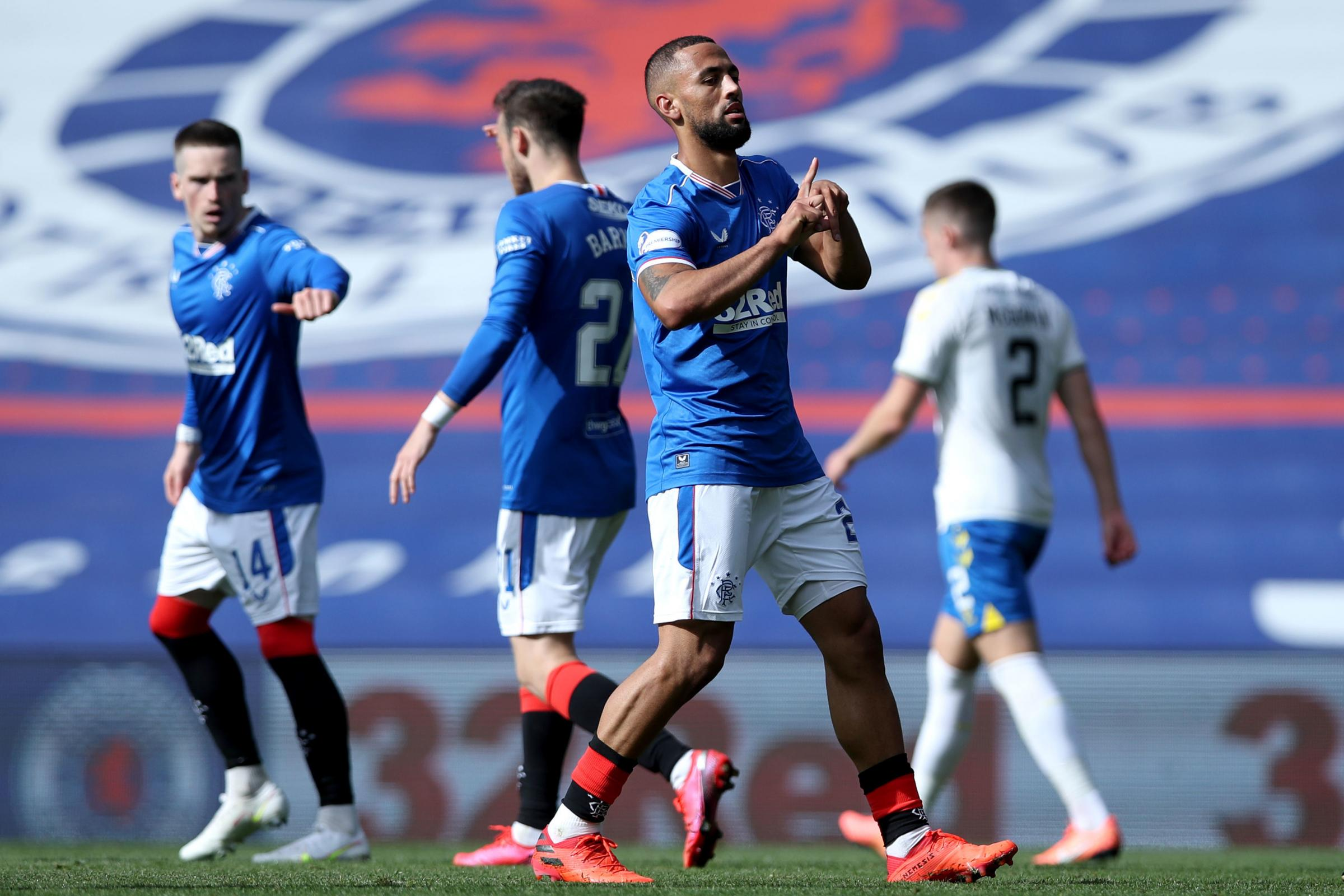 Kemar Roofe settles into Rangers attack with ease after first Ibrox goal