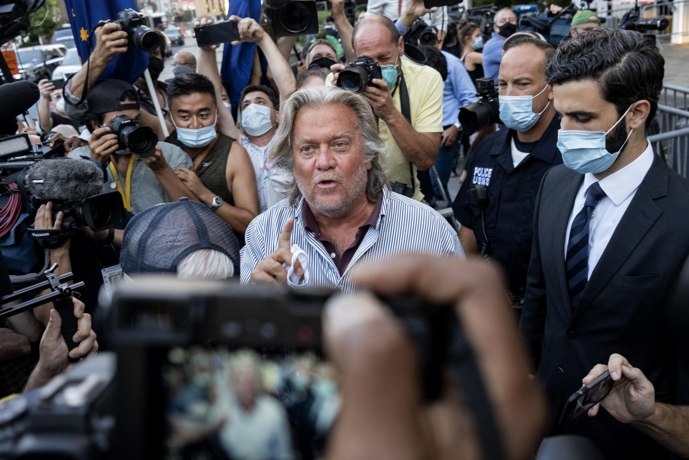 Steve Bannon among Donald Trump associates subpoenaed in Capitol riot inquiry