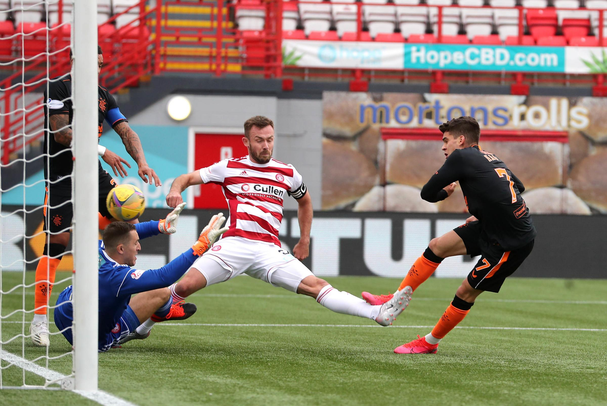 Hamilton 0 Rangers 2: How Brian Rice's men rated in defeat to Premiership leaders