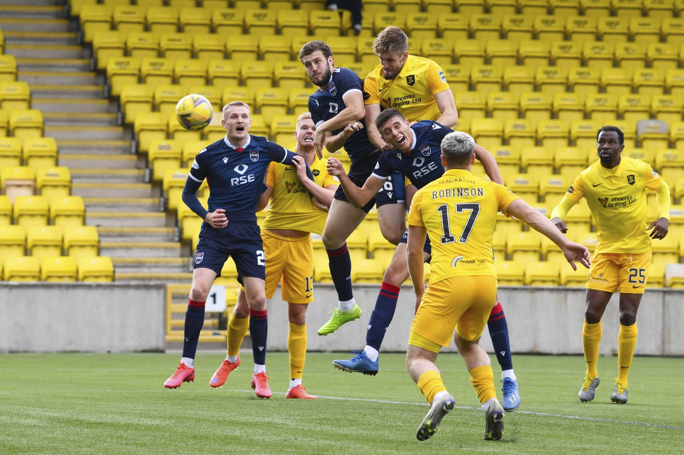 Livingston 1 Ross County 0: Kettlewell sees red over referee, but Holt delighted to win ugly