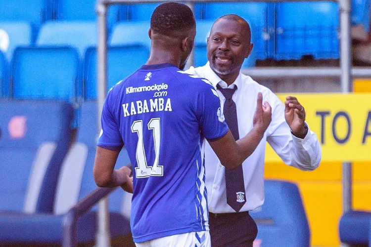 Kilmarnock 4-0 Dundee United: Dyer hails strike duo Kabamba and Brophy for lethal showing