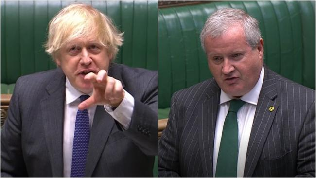 Ian Blackford has critcised Boris Johnson's handling of the Covid-19 crisis