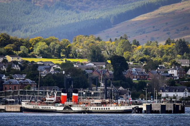 The PS Waverley has been in the wars again