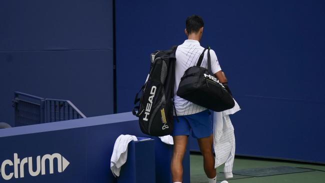 Video Novak Djokovic Disqualified After Hitting Lineswoman With Ball Heraldscotland