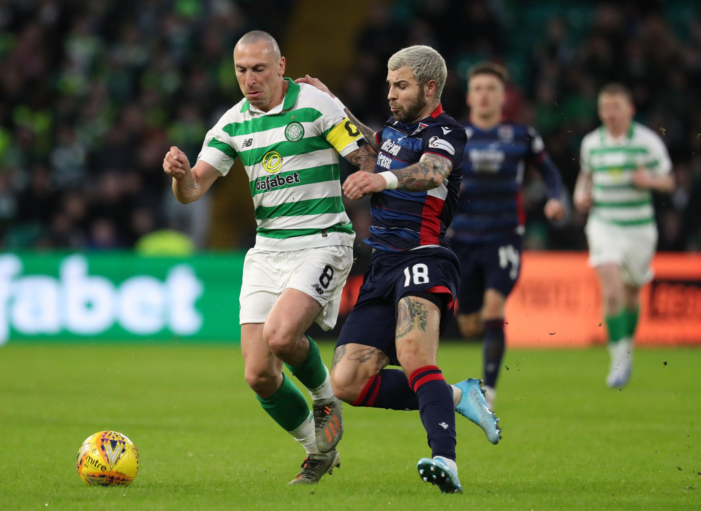 Manager jokes Celtic 'may be intimidated' by Ross County fans