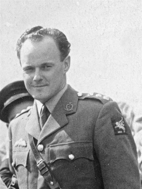 Dr John MacLeod served in the Royal Medical Corps during the war