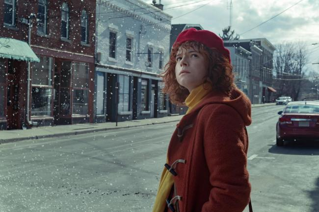 Jessie Buckley as Young Woman in I'm Thinking Of Ending Things