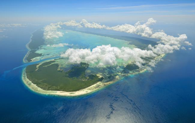 Aldabra, the coral island described by Sir David Attenborough as one of the world's greatest surviving natural treasures.