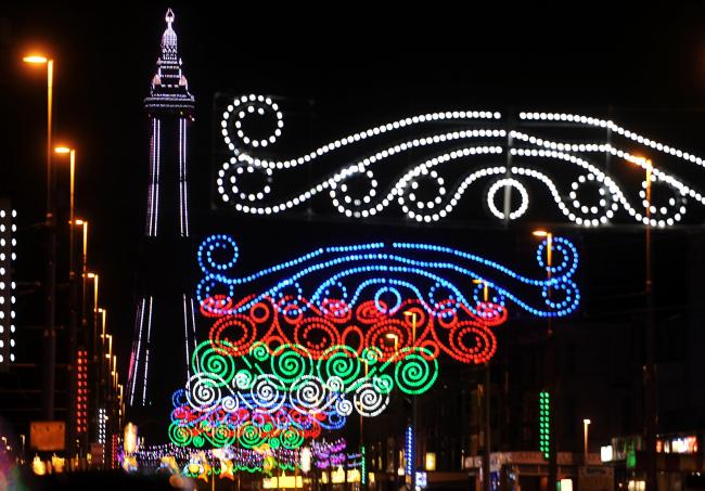 Blackpool Illuminations. Picture: Helen Brown