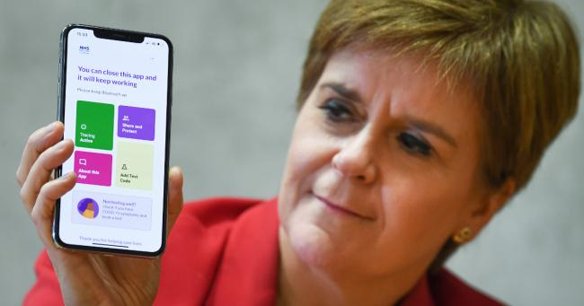 'Only NHS has access': SNP insists Amazon is not getting data from a million users of Scotland's contact trace app