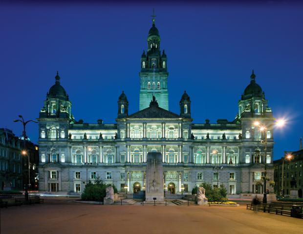 HeraldScotland: The City Chambers in Glasgow