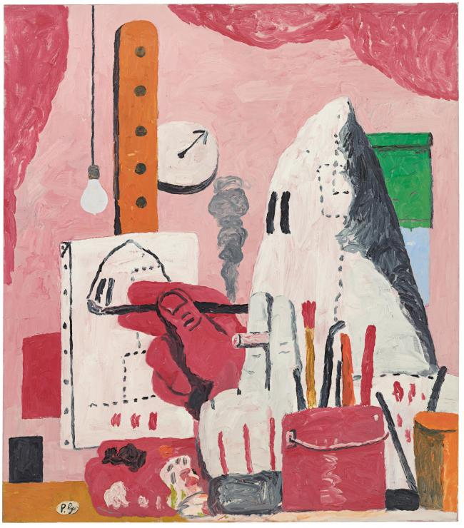 Philip Guston, The Studio, 1969, Private Collection. ©The Estate of Philip Guston