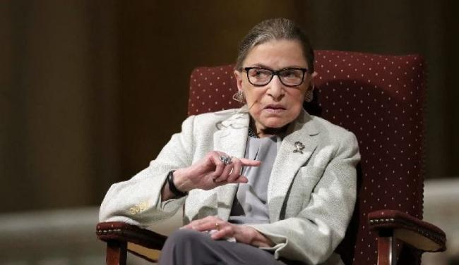 Tributes paid to US supreme court justice Ruth Bader Ginsburg