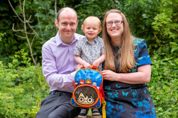 HeraldScotland: Dr Hand and Dr Ingram with their son, Eric