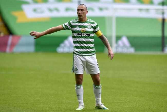 Scott Brown has told his Celtic teammates that they can't look too far into the future.