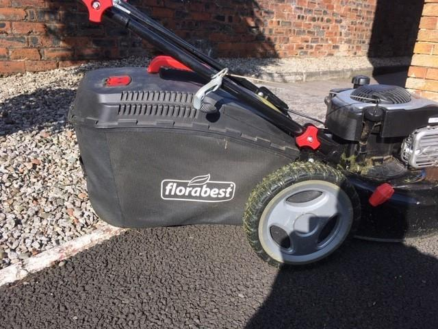 Harry Shaw from Airdrie loves the cheery greeting his lawnmower gives him ever time he cuts the grass. The only thing needed to make it perfect would be the addition of the word 'pal'.
