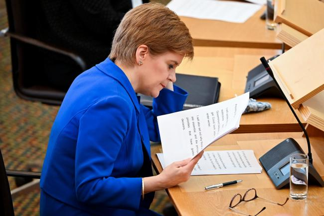 Nicola Sturgeon announces the new Covid restrictions