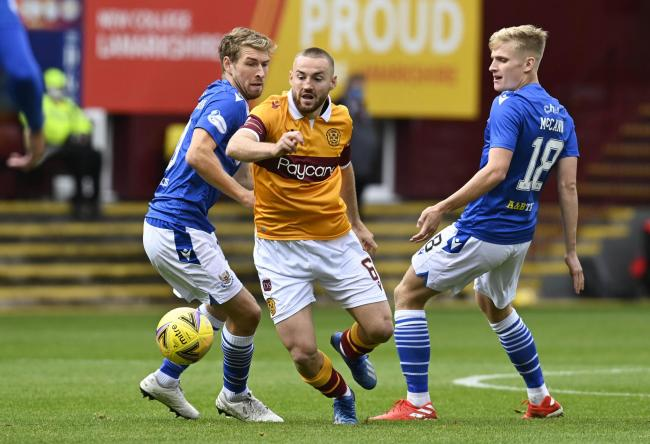Allan Campbell is a model professional behind the scenes at Motherwell.