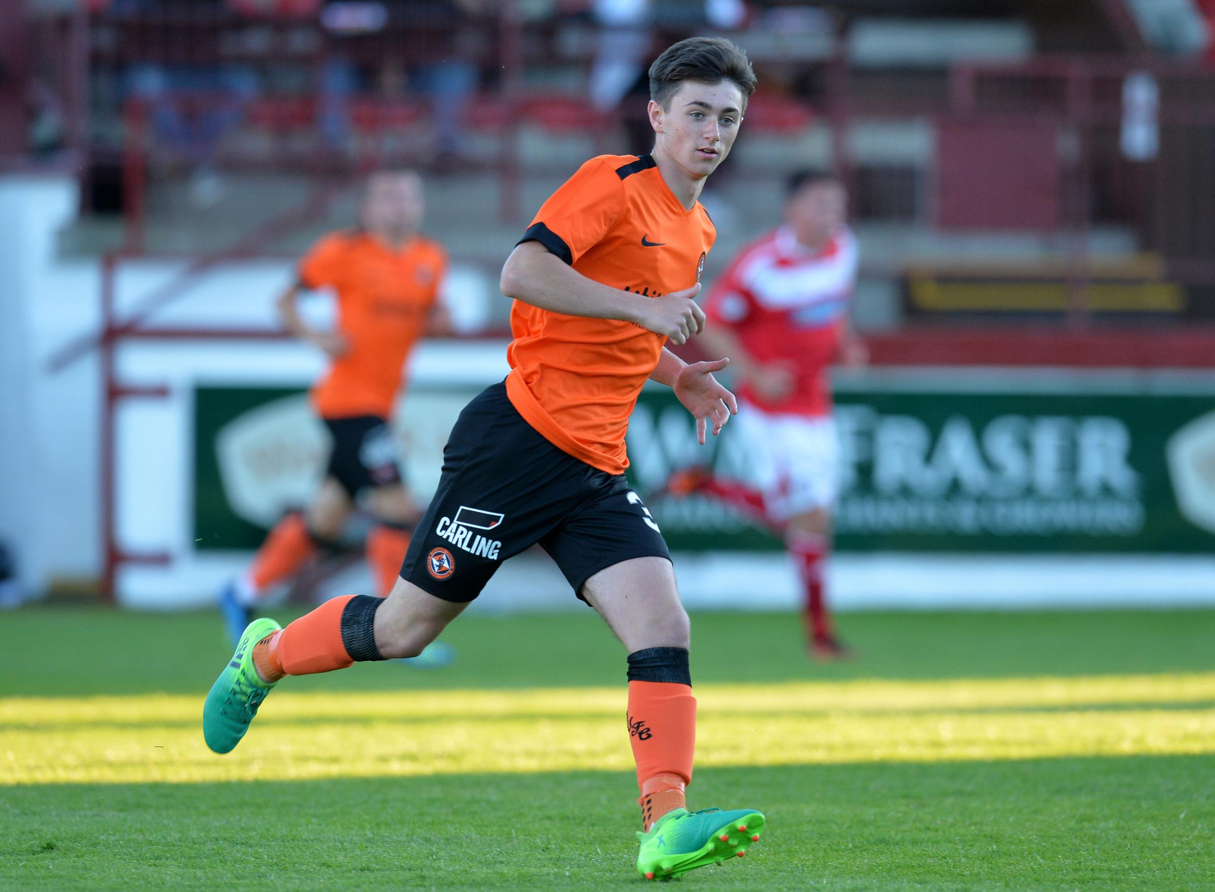 Partick Thistle set to clinch loan signing of Dundee United midfielder Declan Glass
