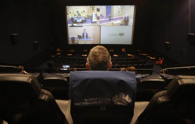 Legal first as Scottish criminal justice system prepares for big screen treatment