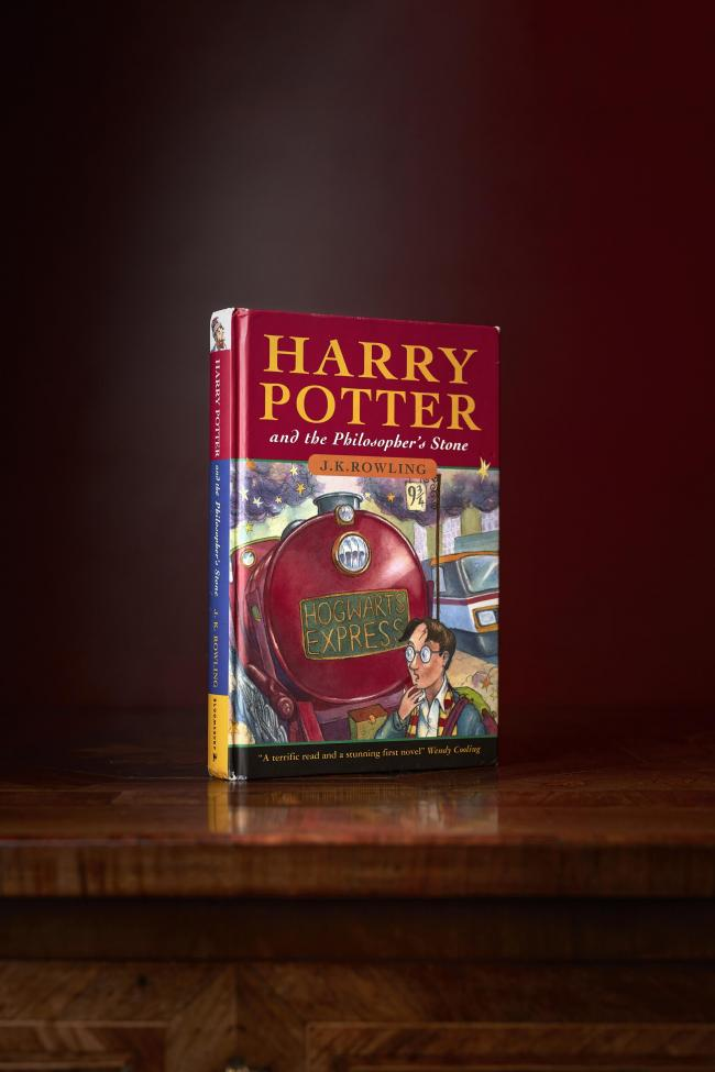 first edition of Harry Potter and the Philosopher's Stone was sold to an international buyer for £125,000