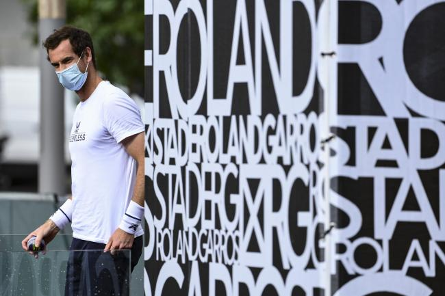 Andy Murat Roland-Garros for the first time since 2017 later todayray will take to the court