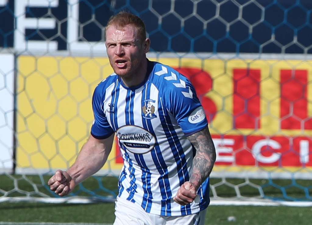 Chris Burke on rolling back the years with Kilmarnock