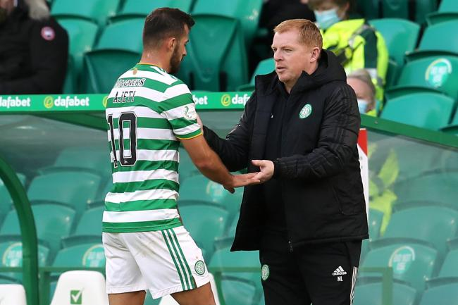 Celtic in major injury blow as Albian Ajeti limps off against Hibs
