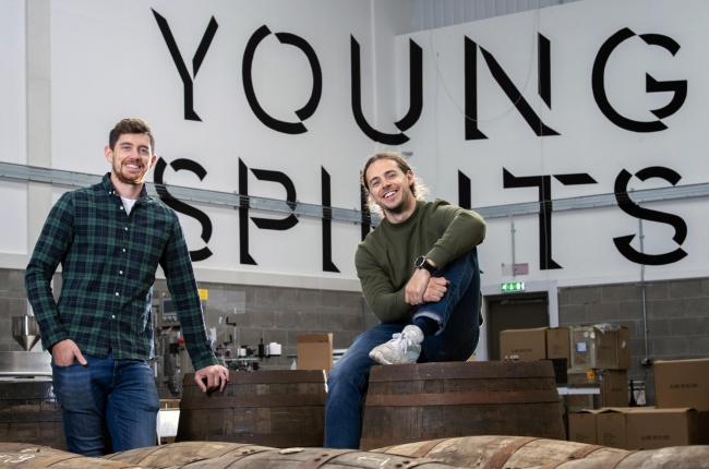 John Ferguson and Alex Hamilton of Young Spirits